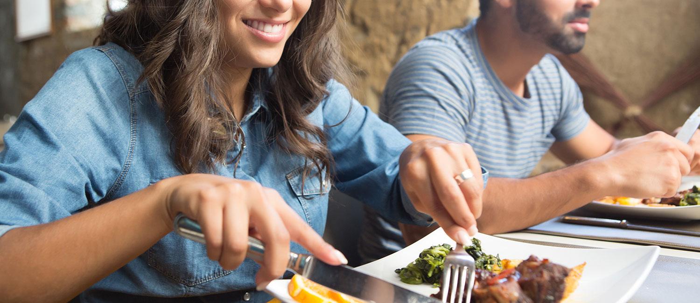 ENJOY AWARD-WINNING GOURMET FOOD WITH A MEDITERRANEAN AND LATIN AMERICAN INFLUENCE